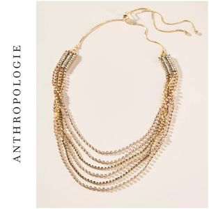 NWT | Anthropologie Poe Layered Necklace